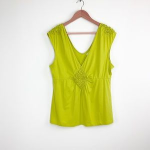 Anthropologie Deletta sleeveless blouse